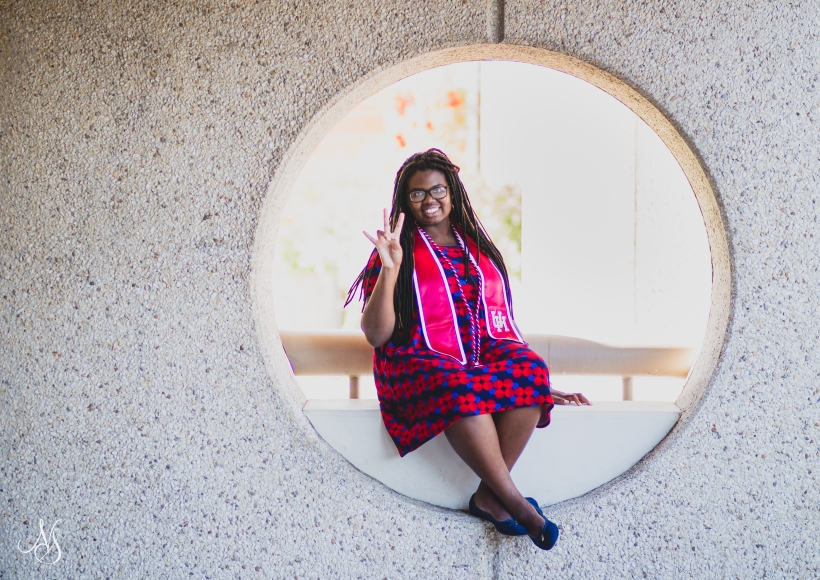 Nnenna Umelloh graduates from University of Houston debt-free with scholarships