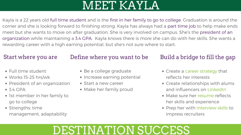 How Achievement Consulting helps Kayla launch her career