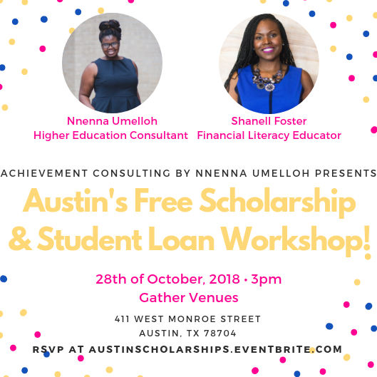 Scholarship and Student Loan Workshop