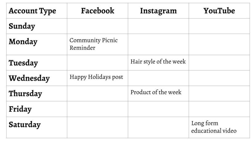 An easy way to keep your social media platforms up to date
