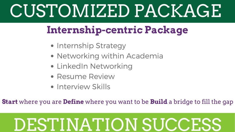 Skills and resources to help you land an internship to advance your career